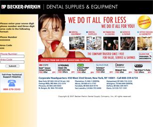 Becker Parkin Dental Supplies