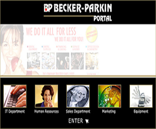 Becker Parkin Dental Portal