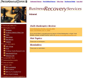 PricewaterhouseCoopers Services