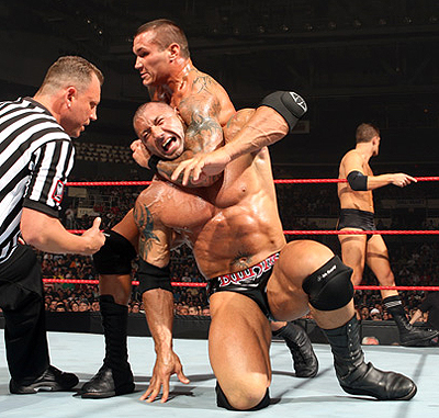 On April 26th, 2009 at the WWE backlash pay per view, Randy Orton made